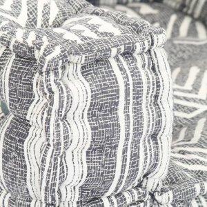 Πολυθρόνα - Κρεβάτι Αρθρωτή Ριγέ Υφασμάτινη