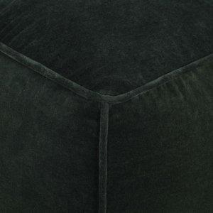 Πουφ Κυπαρισσί 40 x 40 x 40 εκ. από Βαμβακερό Βελούδο