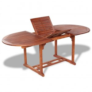 Τραπέζι Κήπου 200 x 100 x 74 εκ. από Μασίφ Ξύλο Ακακίας