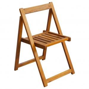 Καρέκλες Κήπου Πτυσσόμενες 2 τεμ. από Μασίφ Ξύλο Ακ&alph