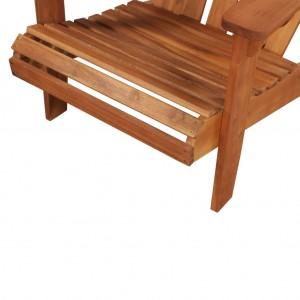 Καρέκλα Κήπου Adirondack από Μασίφ Ξύλο Ακακίας