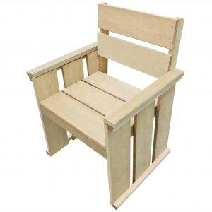 Καρέκλα Εξωτερικού Χώρου από Εμποτισμένο Ξύλο Πεύ&kapp