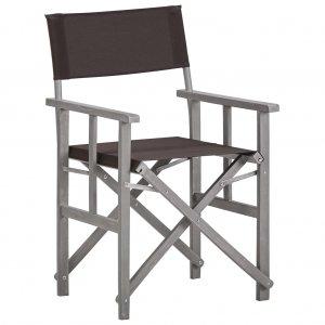 Καρέκλες Σκηνοθέτη 2 τεμ. από Μασίφ Ξύλο Ακακίας