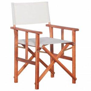 Καρέκλα Σκηνοθέτη από Μασίφ Ξύλο Ακακίας
