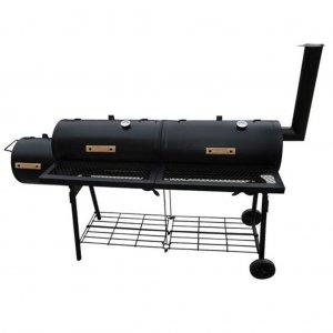 Ψησταριά Καπνιστήρι Nevada Μαύρη XL