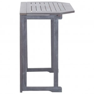 Τραπέζι Μπαλκονιού Πτυσσόμενο 90x50x74 εκ. Μασίφ Ξύλο Ακακίας