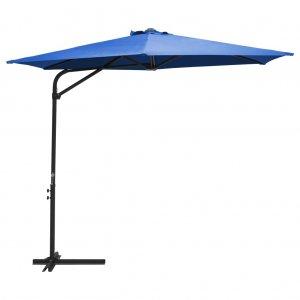 Ομπρέλα Κήπου Αζούρ Μπλε 300 εκ. με Ατσάλινο Ιστό