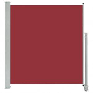 Σκίαστρο Πλαϊνό Συρόμενο Βεράντας Κόκκινο 140 x 300 εκ.