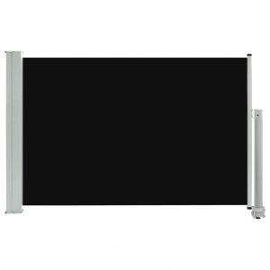 Σκίαστρο Πλαϊνό Συρόμενο Βεράντας Μαύρο 60 x 300 εκ.