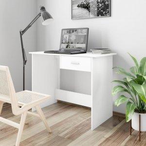 Γραφείο Λευκό 100 x 50 x 76 εκ. από Μοριοσανίδα