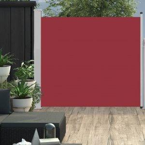Σκίαστρο Πλαϊνό Συρόμενο Βεράντας Κόκκινο 170 x 300 εκ.