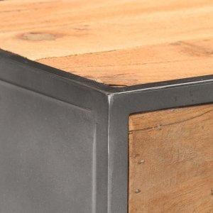 Συρταριέρα 45x30x100 εκ. από Μασίφ Ανακυκλωμένο Ξύλο