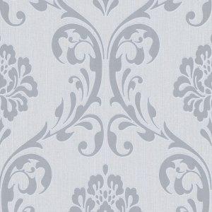 Non Woven Ρολά Ταπετσαρίας Ornament 2 τεμ. Λευκά 0,53 x 10 μ.