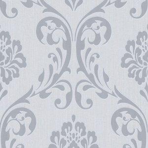 Non Woven Ρολά Ταπετσαρίας Ornament 4 τεμ. Λευκά 0,53 x 10 μ.