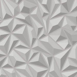 Non Woven Ρολά Ταπετσαρίας Γραφικά 4 τεμ. Λευκά 0,53 x 10 μ.