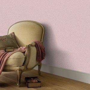 Non Woven Ρολά Ταπετσαρίας 4 τεμ. Απλό Λαμπερό Ροζ 0,53 x 10 μ.