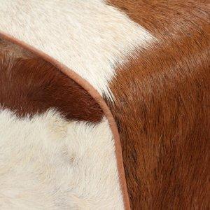 Παγκάκι 120 x 30 x 45 εκ. από Γνήσιο Δέρμα Κατσίκας