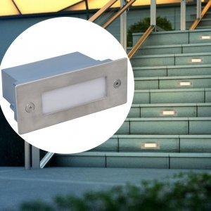 Φωτιστικά LED Χωνευτά για Σκάλες 6 τεμ. 44 x 111 x 56 χιλ.