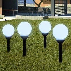 Φωτιστικά Εξωτ. Χώρου για Μονοπάτια 8 τεμ. LED Καρφωτά 15 εκ.