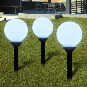 Φωτιστικά Εξωτ. Χώρου για Μονοπάτια 6 τεμ. LED Καρφωτά 20 εκ.