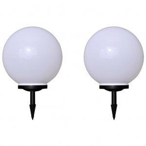 Φωτιστικά Εξωτ. Χώρου για Μονοπάτια 2 τεμ. LED Καρφωτά 40 εκ.