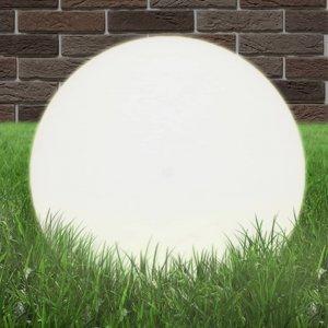 Φωτιστικά Μπάλα LED 2 τεμ. Σφαιρικά 50 εκ. Ακρυλικά (PMMA)