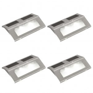 4 ηλιακά φωτιστικά σκάλας