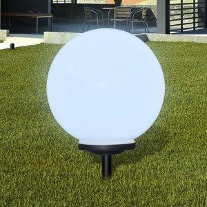 Ηλιακοί γλόμποι με LED για διαδρ.κήπου