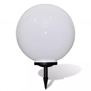 Ηλιακό Φωτιστικό Κήπου LED Μπάλα 50cm με Σφήνα 1τμχ