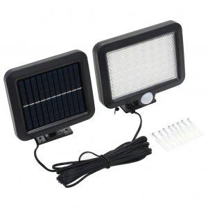 Φωτιστικό Ηλιακό με Αισθητήρα Κίνησης LED Λευκό