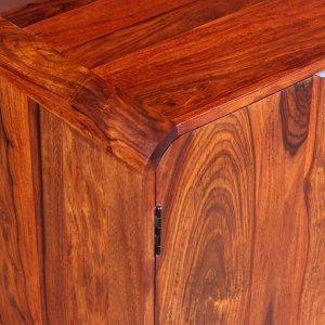 Ντουλάπι 75 x 35 x 60 εκ. Από μασίφ ξύλο sheesham