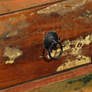 Μπουφές 120 x 35 x 76 εκ. Από μασίφ ανακυκλωμένο ξύλο
