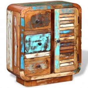 Βοηθητικό έπιπλο από μασίφ ανακυκλωμένο ξύλο