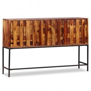 Μπουφές 120 x 30 x 80 εκ. Από μασίφ ξύλο sheesham