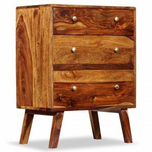 Συρταριέρα 60 x 35 x 76 εκ. Από μασίφ ξύλο sheesham