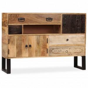 Ντουλάπι 115 x 30 x 80 εκ. Από μασίφ ξύλο μάνγκο