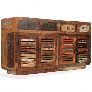 Μπουφές 150 x 35 x 75 εκ. Από μασίφ ανακυκλωμένο ξύλο