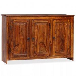 Μπουφές 115 x 35 x 75 εκ. Από μασίφ ξύλο sheesham