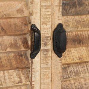 Μπουφές 120 x 30 x 76 εκ. Από μασίφ ξύλο μάνγκο