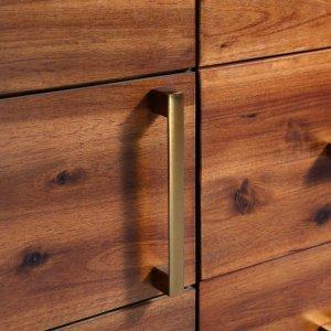Μπουφές 115 x 35 x 70 εκ. Από μασίφ ξύλο ακακίας