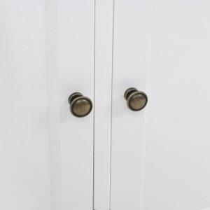 Μπουφές με 3 πόρτες 105 x 35 x 77,5 εκ. Από mdf και ξύλο πεύκου