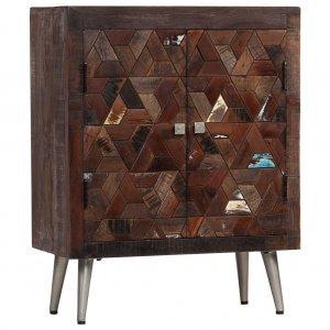 Ντουλάπι 60 x 30 x 76 εκ. Από μασίφ ανακυκλωμένο ξύλο