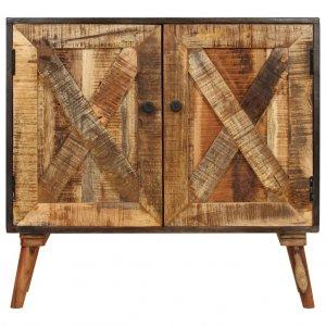 Ντουλάπι 85 x 30 x 75 εκ. Από μασίφ ξύλο μάνγκο