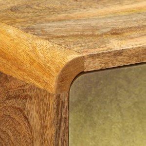 Μπουφές 120 x 30 x 80 εκ. Από μασίφ ξύλο μάνγκο