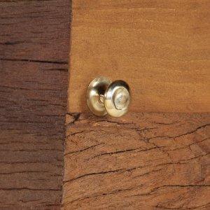Μπουφές καφέ 110x30x75 εκ. Από μασίφ ανακυκλωμένο ξύλο