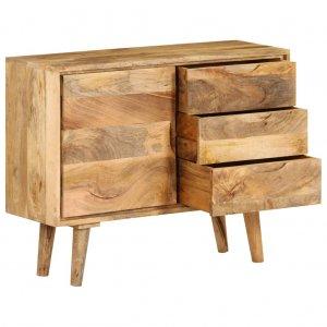 Ντουλάπι 90 x 30 x 69 εκ. Από μασίφ ξύλο μάνγκο