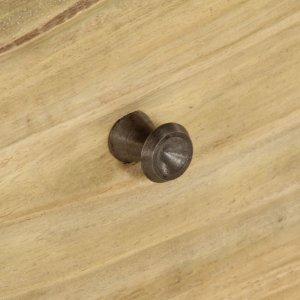 Μπουφές 118 x 30 x 70 εκ. Από μασίφ ξύλο μάνγκο