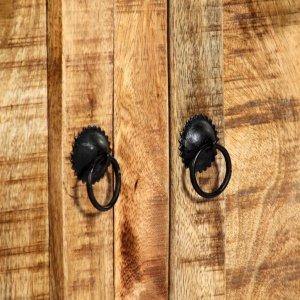 Μπουφές 120 x 35 x 76 εκ. Από μασίφ ξύλο μάνγκο