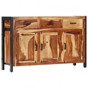 Μπουφές 110 x 35 x 75 εκ. Από μασίφ ξύλο sheesham