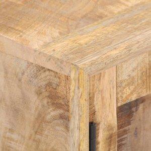 Έπιπλο τηλεόρασης από μασίφ ξύλο μάνγκο 140x30x45 εκ